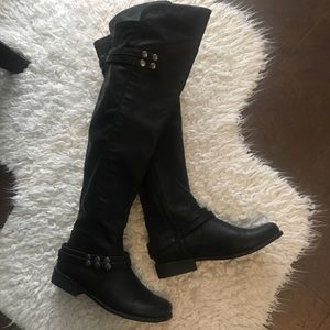 Just Fab over the knee NEVER worn boots